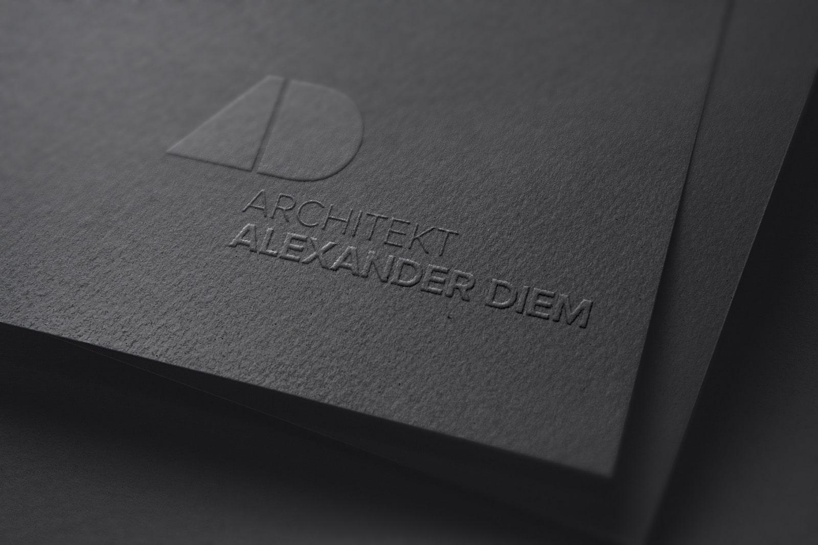 Prägung Alex Diem