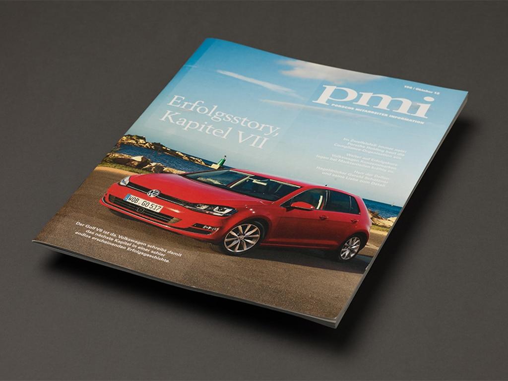 Porsche Mitarbeitermagazin