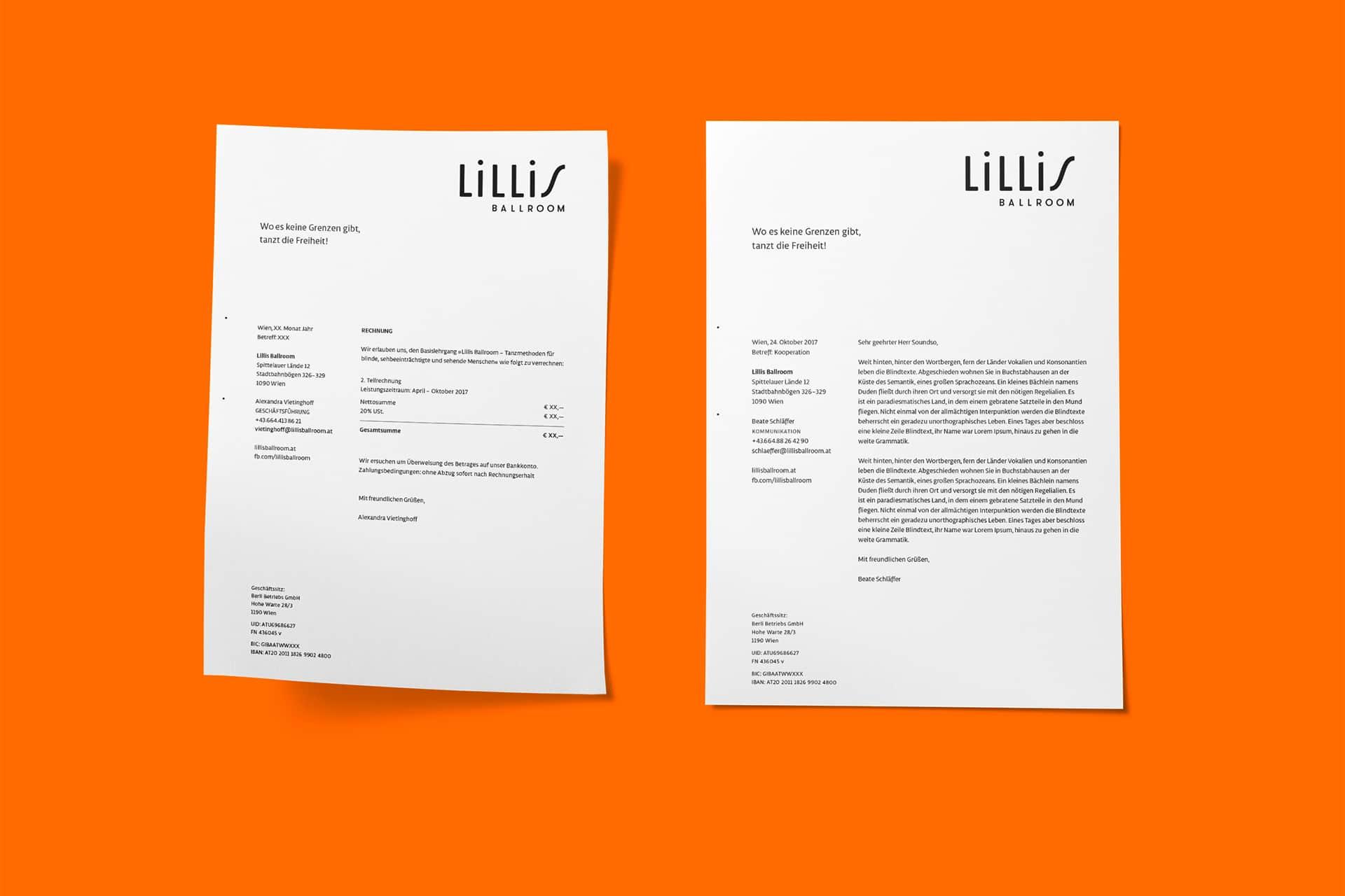Lillis Ballroom Briefpapier