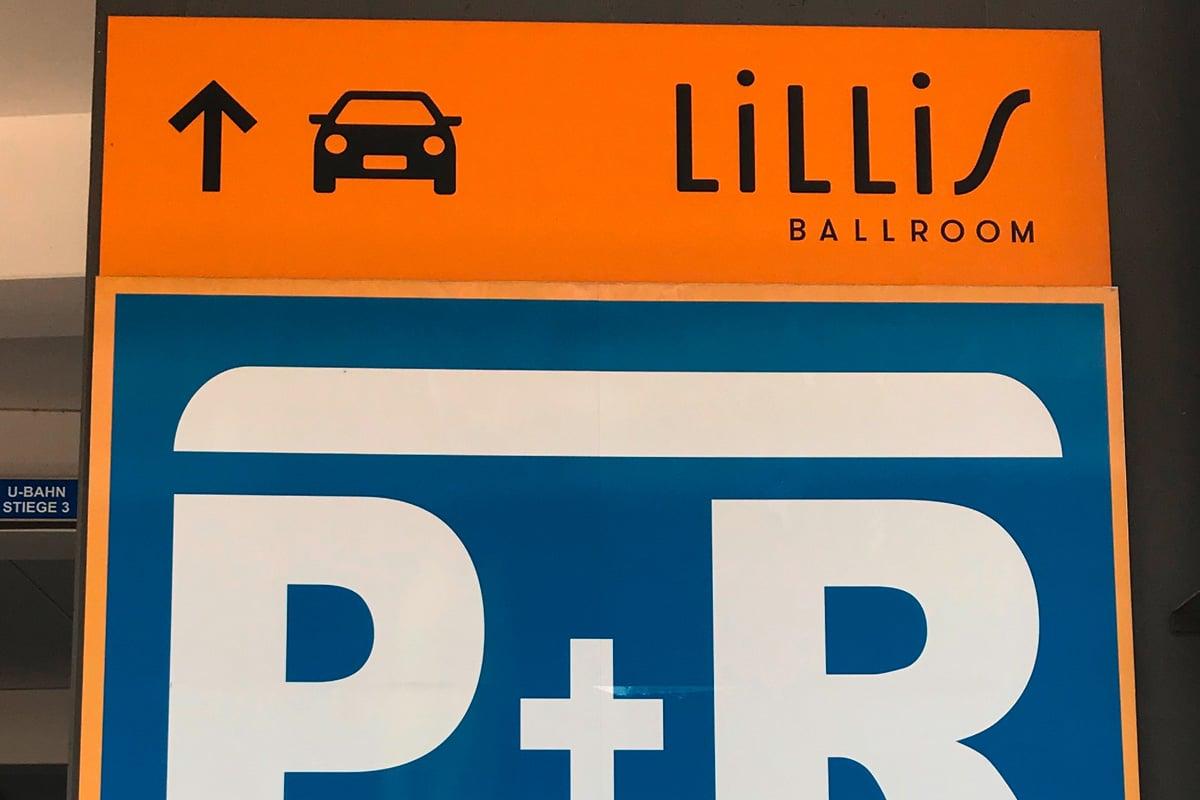 Leitsystem Lillis Ballroom
