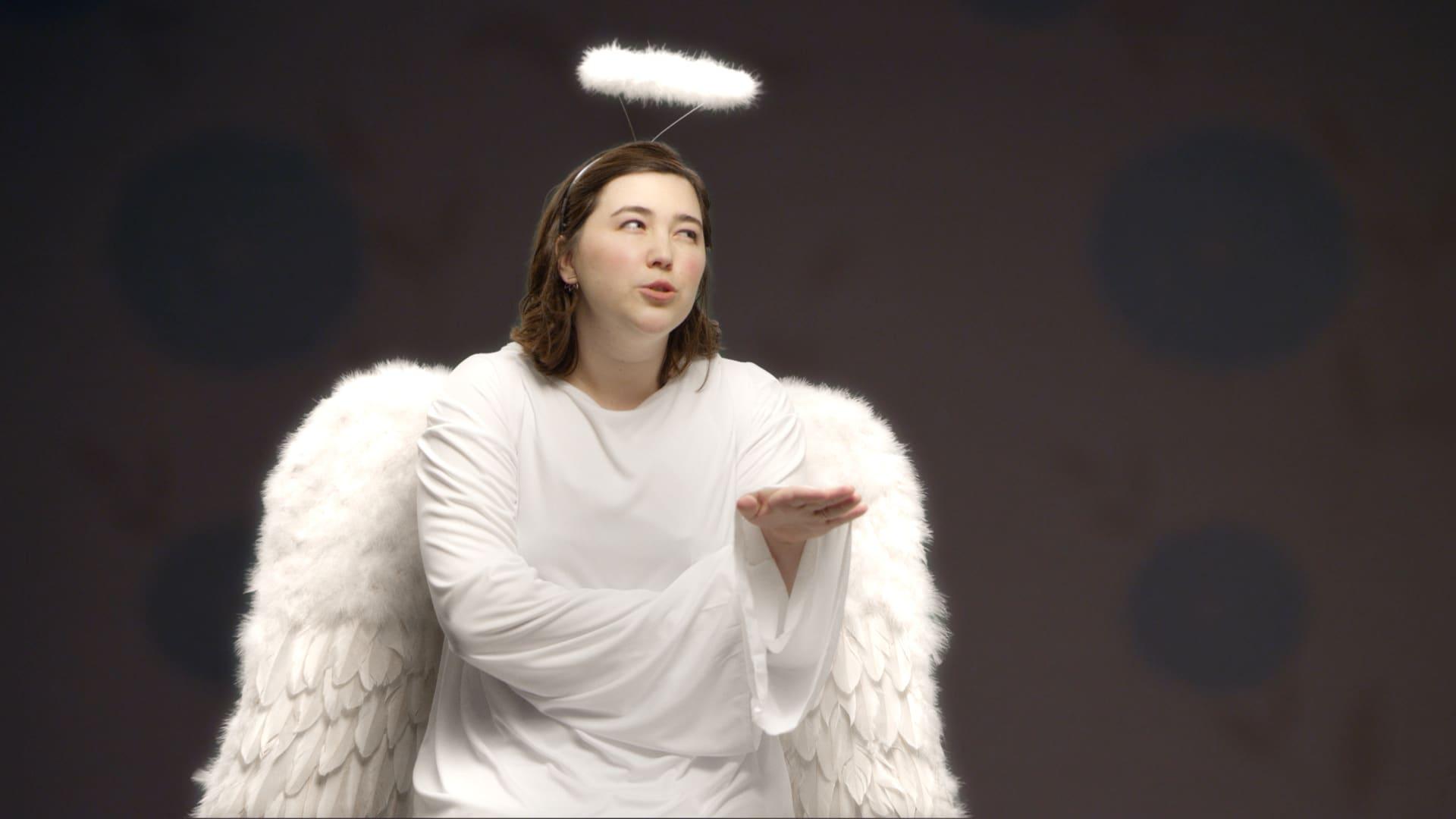 Innere Stimmen als Engel spricht