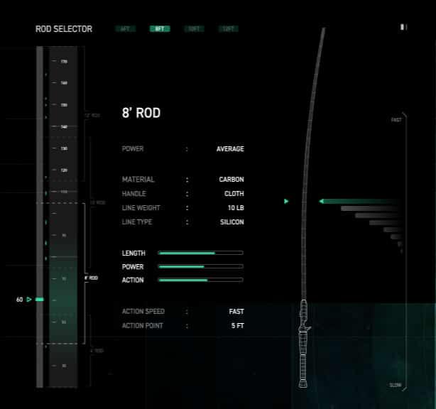 rod-selector
